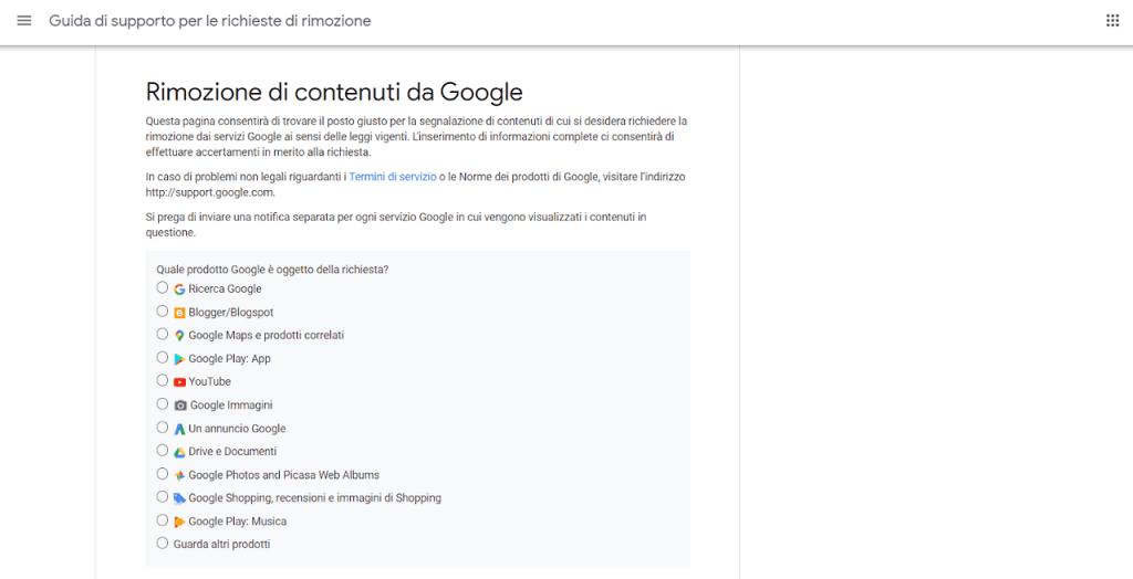 rimozione di contenuti da google come cancellare notizie da internet reputationup