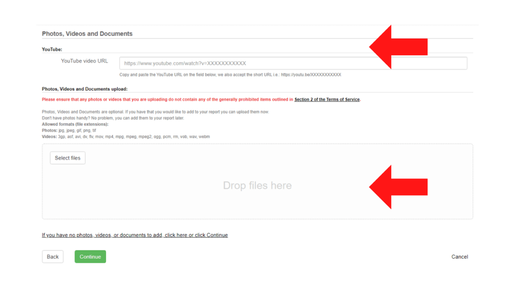 How to rebut a Ripoff Report article fourth step ReputationUP